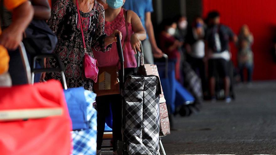 Solo un 7 % de valencianos con menos de 750 € al mes percibe el Ingreso Vital