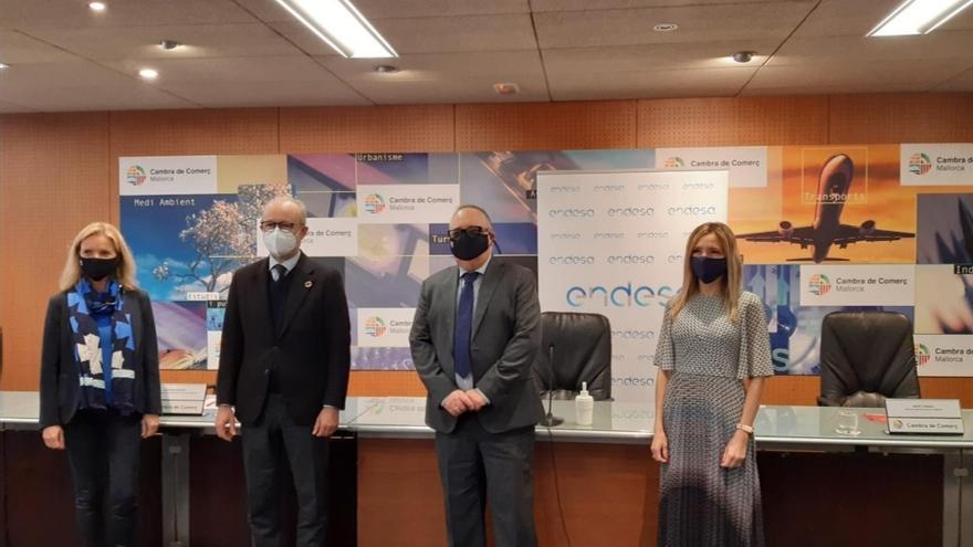 """Cámara de Comercio Mallorca y Endesa presentan acuerdo para """"una sociedad empresarial más diversa e inclusiva"""""""
