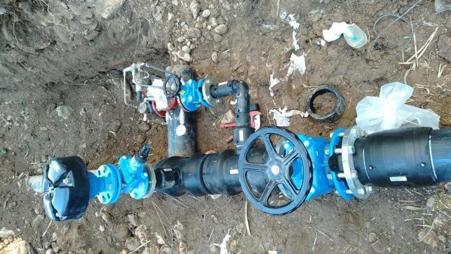 Campanet conecta su red de agua potable a la nueva conducción principal