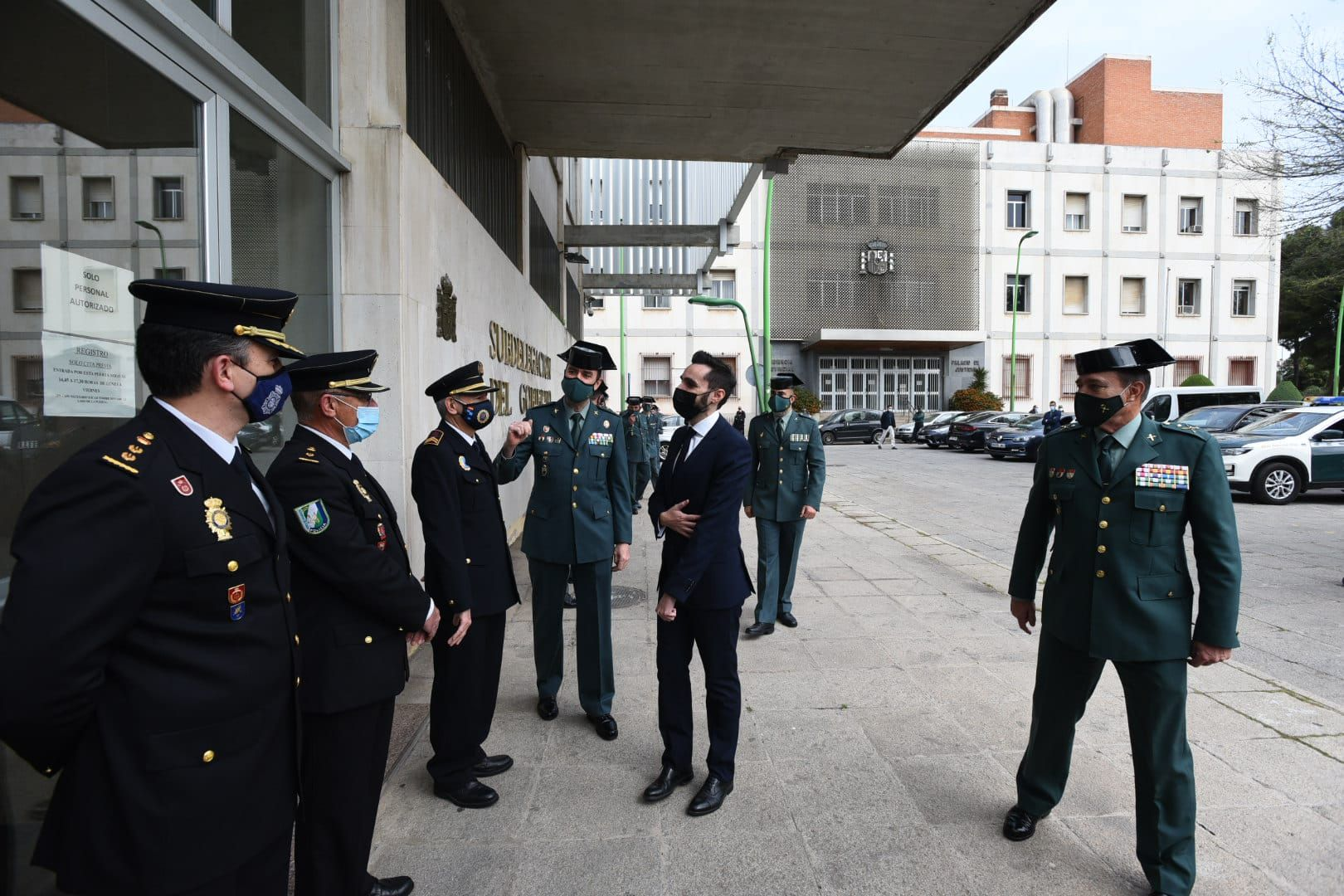 La Guardia Civil de Córdoba presenta su carta de servicios.