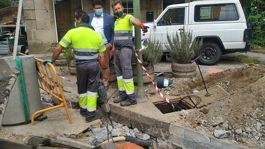 Solución compleja para evitar graves averías de agua en Meaño