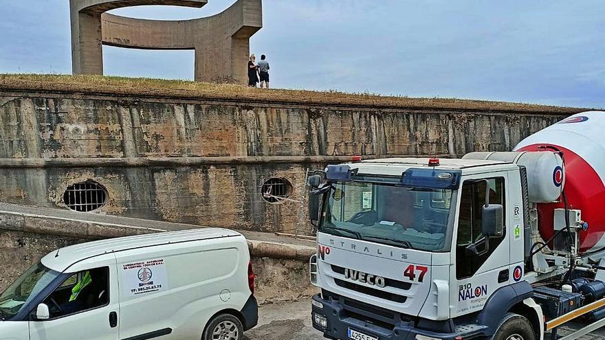 Las obras para adecuar las casamatas del Cerro como museo finalizarán este mes
