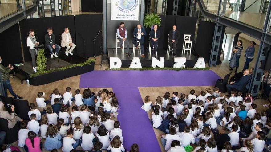 El Colegio de Hurchillo se integra en el Comité Internacional de la Danza