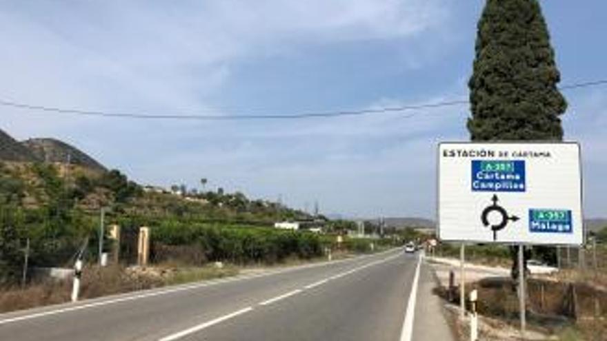 La Junta adjudica la vía ciclopeatonal de la travesía de Cártama