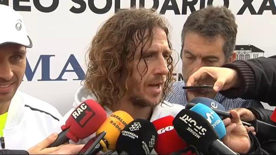 """Puyol: """"Dembélé tiene que darse cuenta de dónde está"""""""