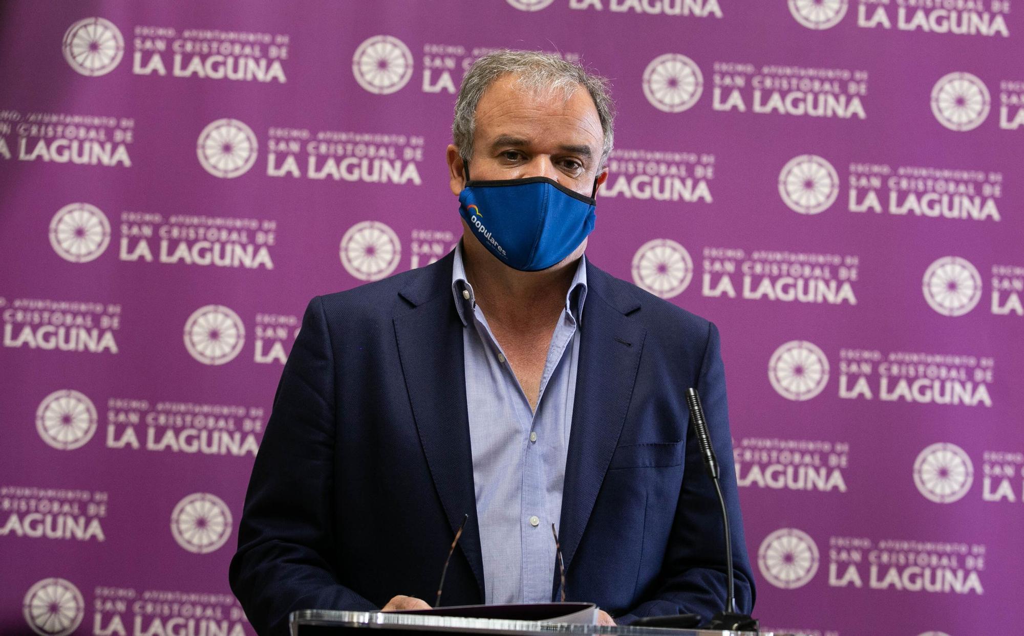 Rueda de prensa oposición La Laguna - Caso Laycas