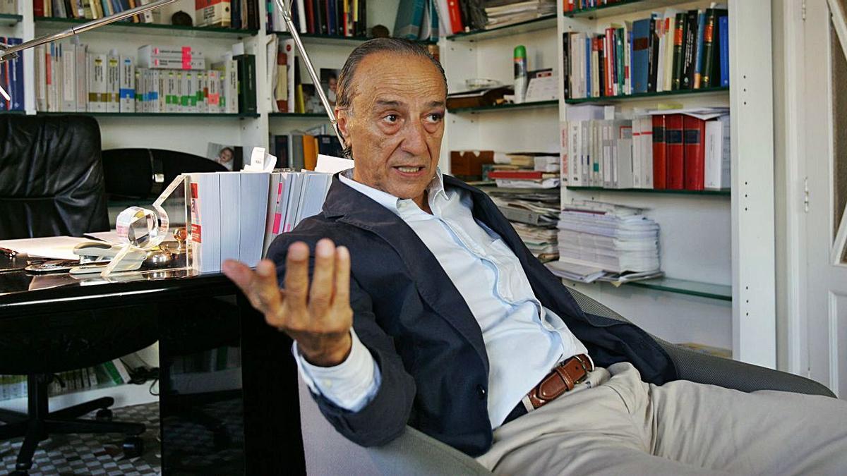 Juan Martín Queralt, en una imagen de archivo.   GERMÁN CABALLERO