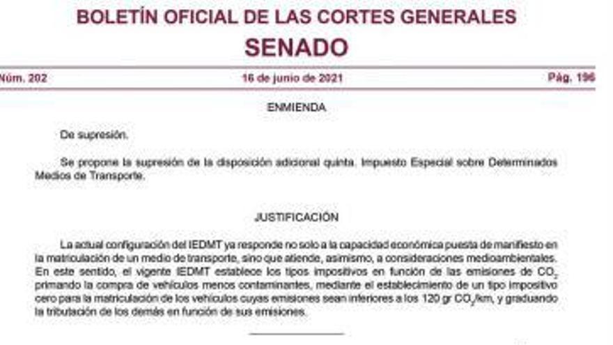 El PSOE promueve un cambio  del REF sin consultar a Canarias