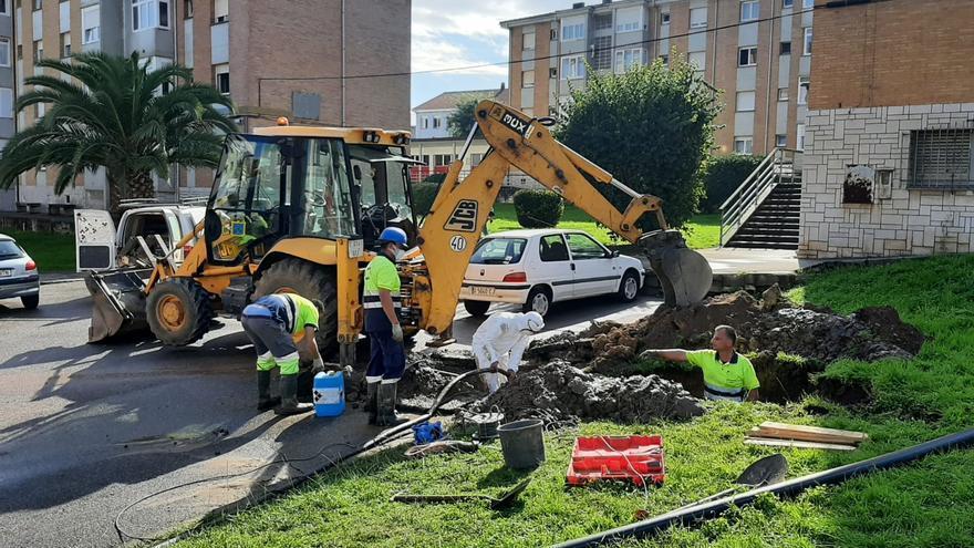 Una avería, ya resuelta, deja sin agua varias horas a los vecinos de Luanco