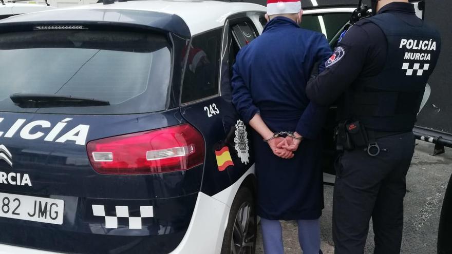 Detenido en Murcia por conducir drogado en la mañana de Navidad