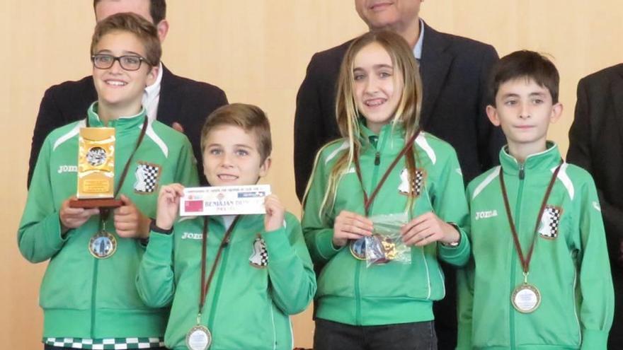 Dos bronces para el ajedrez regional en la Copa de España