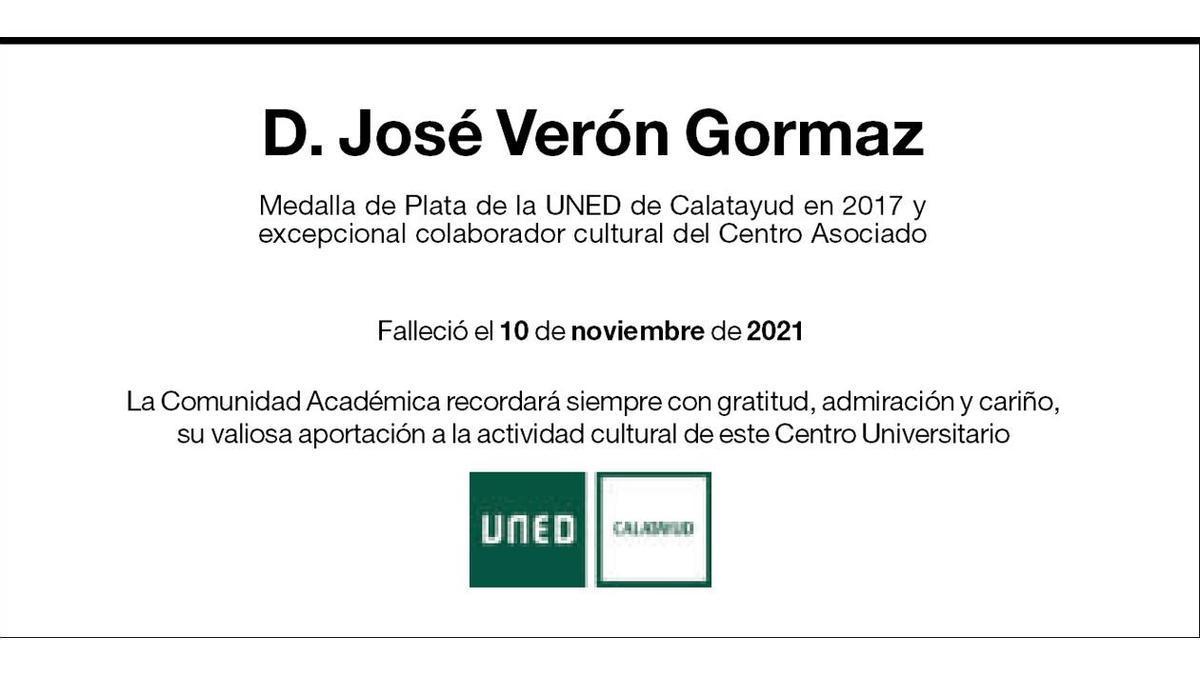 José Verón Gormaz.