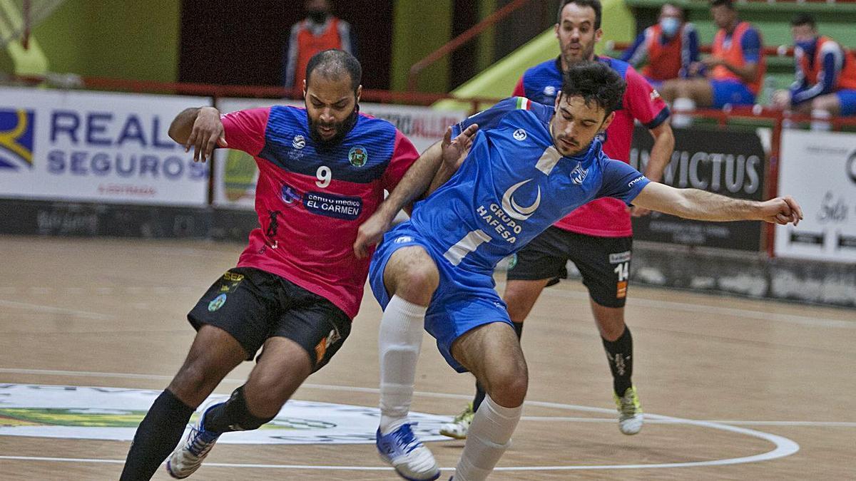 Los azules regresan al pabellón Coto Ferreiro, donde no juegan desde noviembre. |  // BERNABÉ