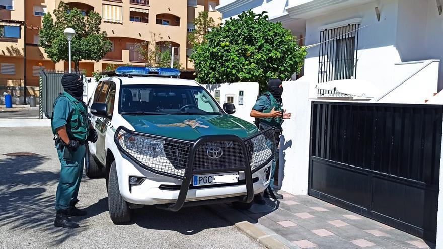 Al menos ocho detenidos en una operación antidroga en Mijas y Fuengirola
