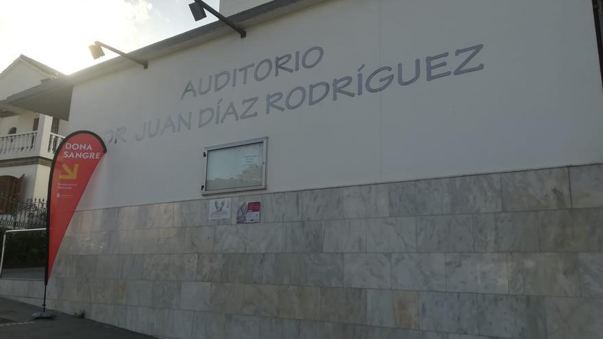 Hemodonación instala una sala de extracción temporal en el Auditorio de Valleseco