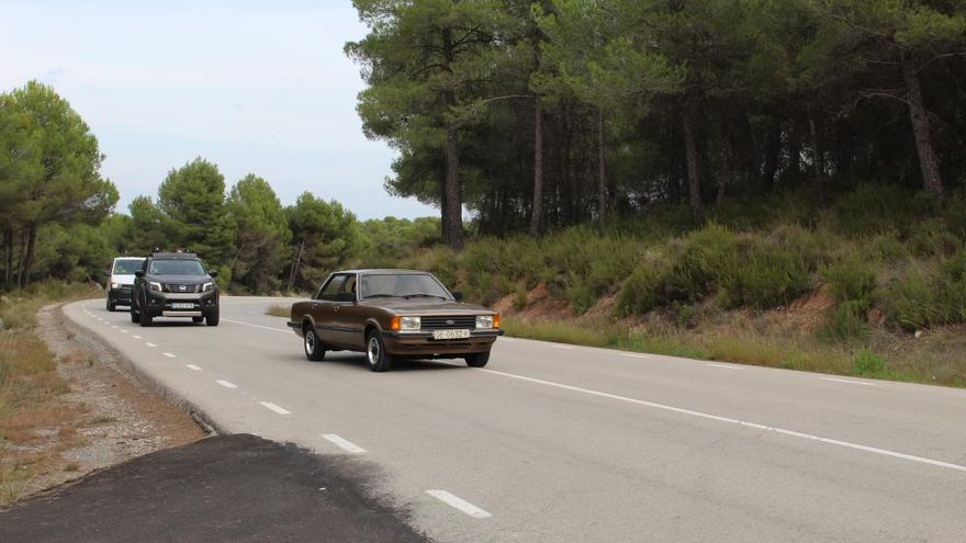 Una persecució de pel·lícula expulsa les motos de l'asfalt de Can Maçana