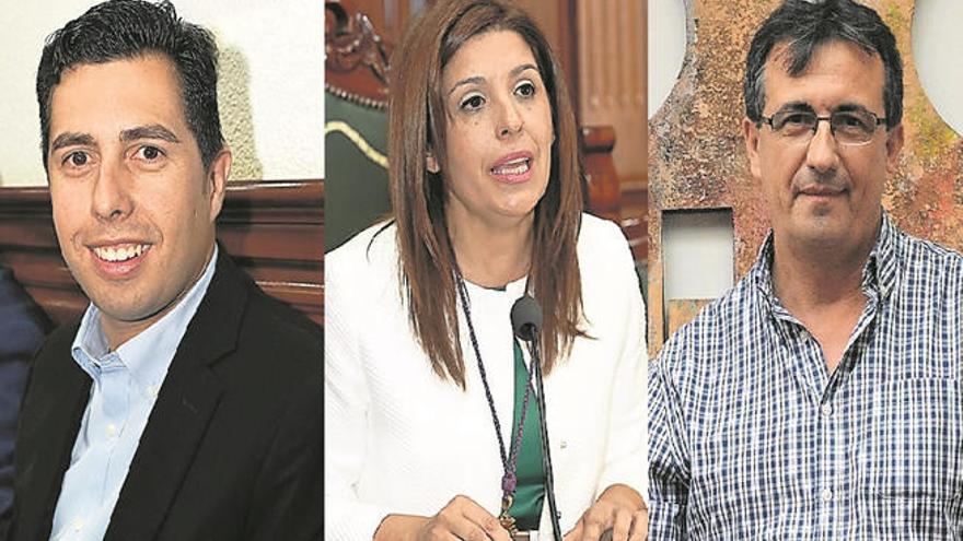La alcaldesa 'invita' a Más por Telde a presentar una censura si le irrita el pacto