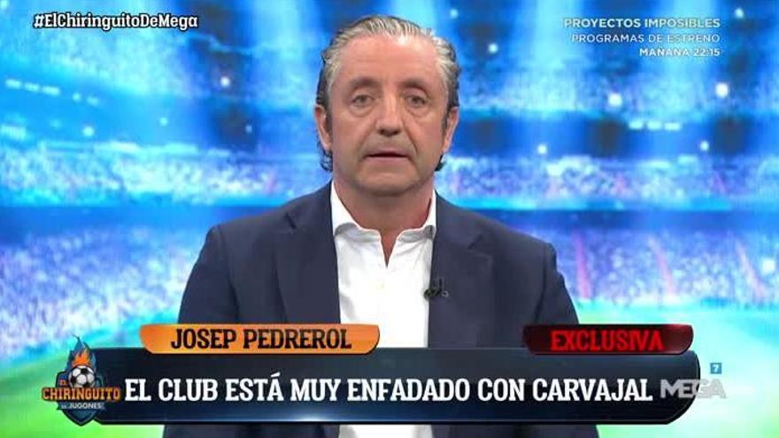 Josep Pedrerol se hace viral por su nuevo peinado