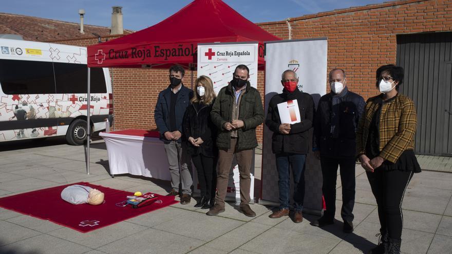 """La Diputación y Cruz Roja impulsan a Zamora como """"provincia cardioprotegida"""""""