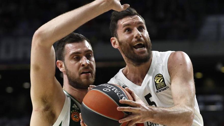 El Madrid sufre para ganar el primer duelo al Panathinaikos