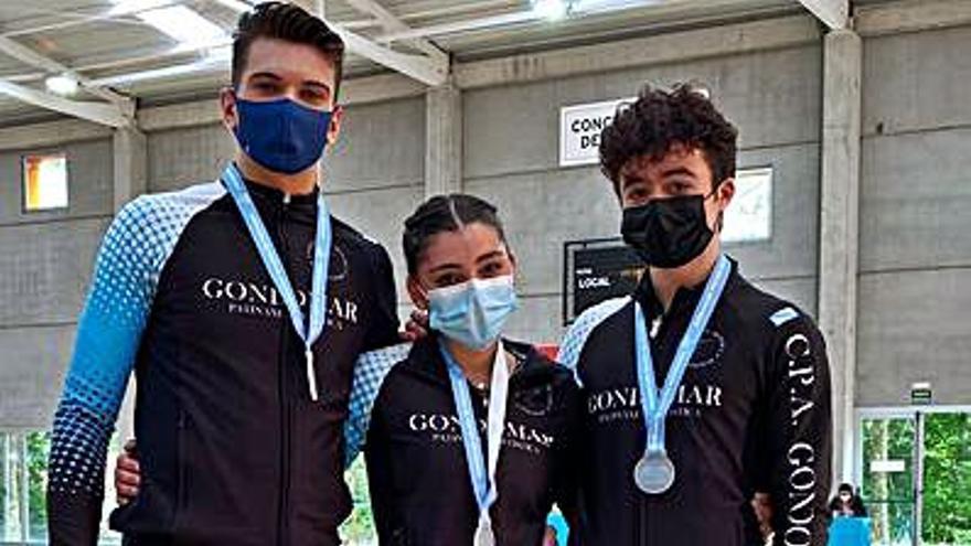 El Club Patinaxe Gondomar logra diez podios en el Trofeo Diputación
