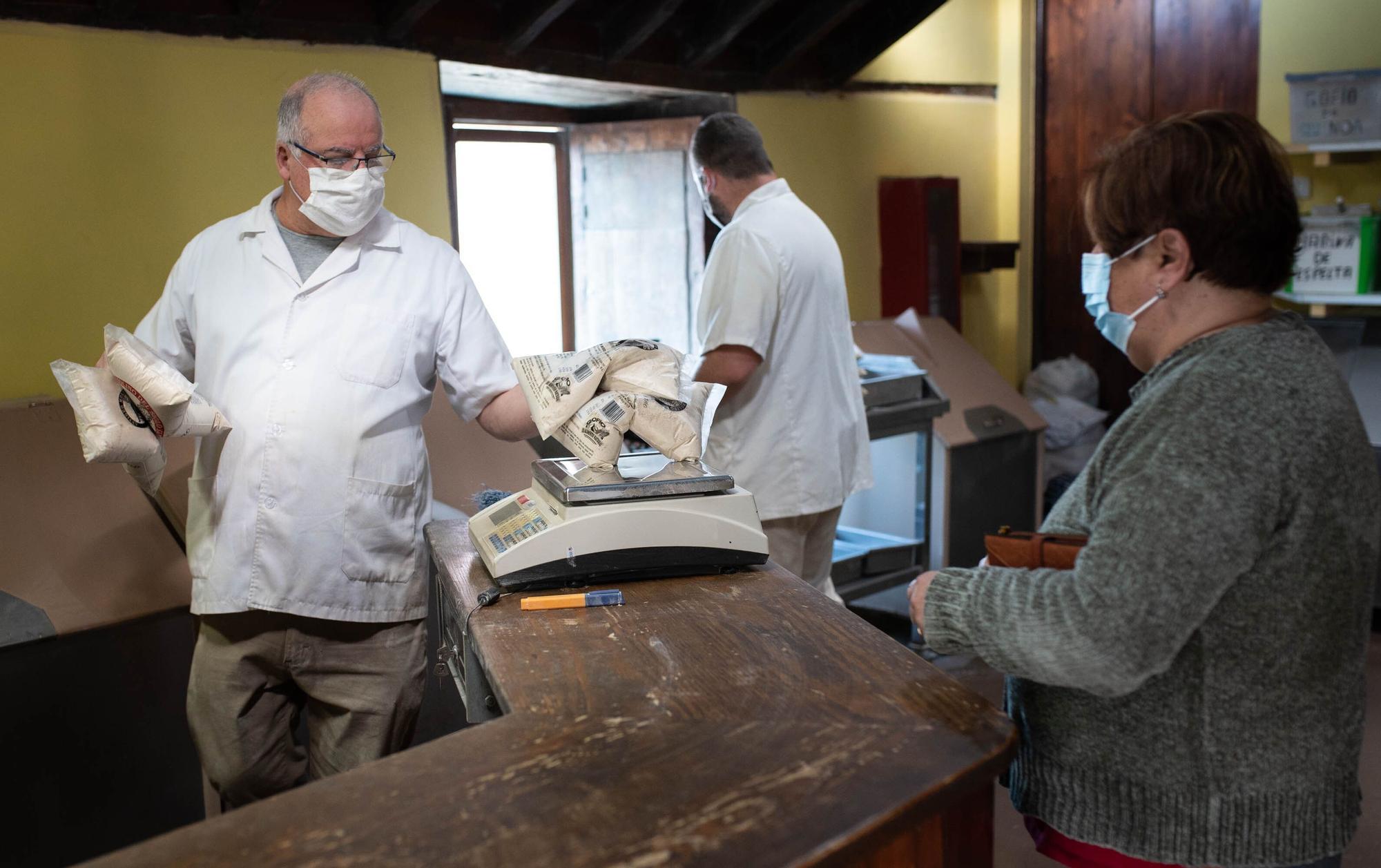 Molinos de gofio centenarios de Tenerife