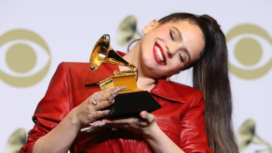 Rosalía y Alejandro Sanz, los ganadores españoles en los Grammy