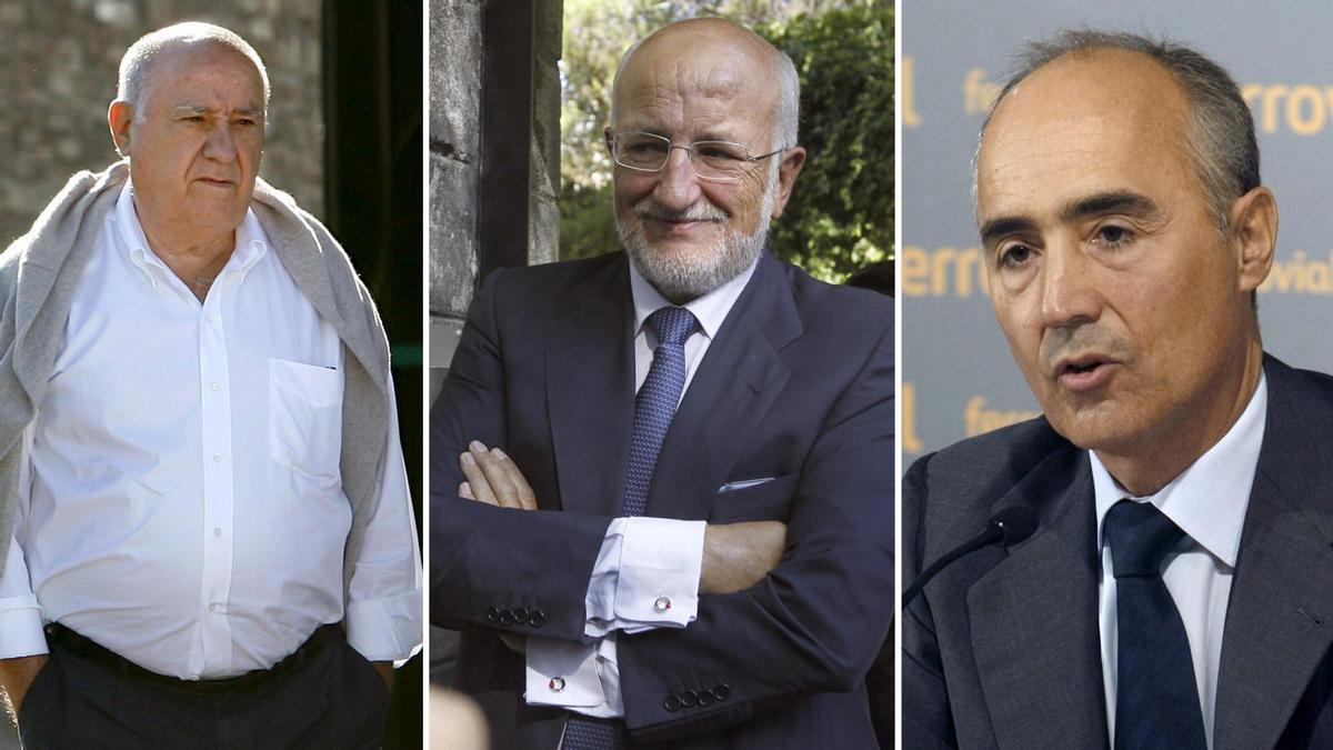 Lista Forbes de los más ricos de España.