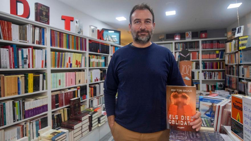 El escritor Pep Toni Bauçà publica el volumen de relatos 'Els dies oblidats'
