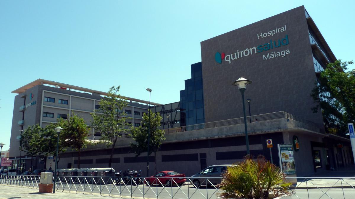 El Hospital Quirónsalud Málaga