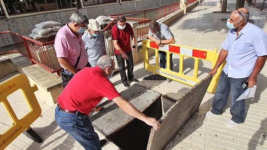 Rojales evitará con una compuerta la inundación de la huerta