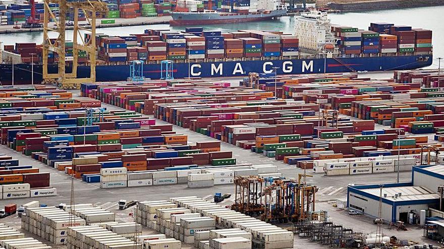 Les exportacions catalanes durant el primer semestre creixen el 28,2%