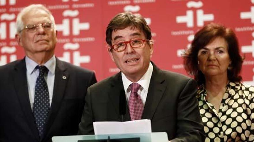 """Luis García Montero """"sueña"""" con abrir centros Cervantes en Washington y Miami"""