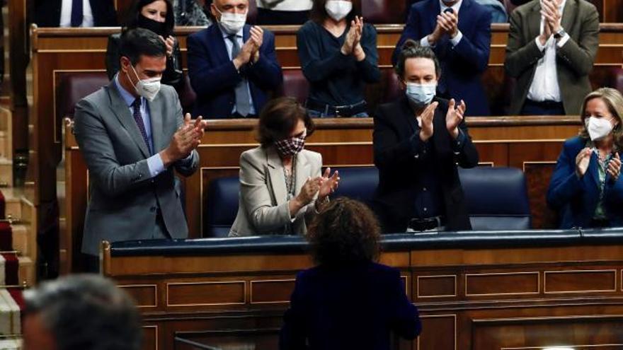 Amplia mayoría para los primeros Presupuestos de Sánchez