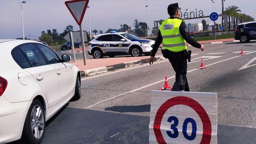 Un herido en Dénia al ser agredido en la calle con un vaso