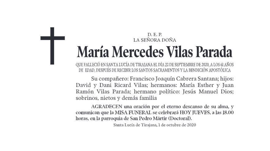 María Mercedes Vilas Parada