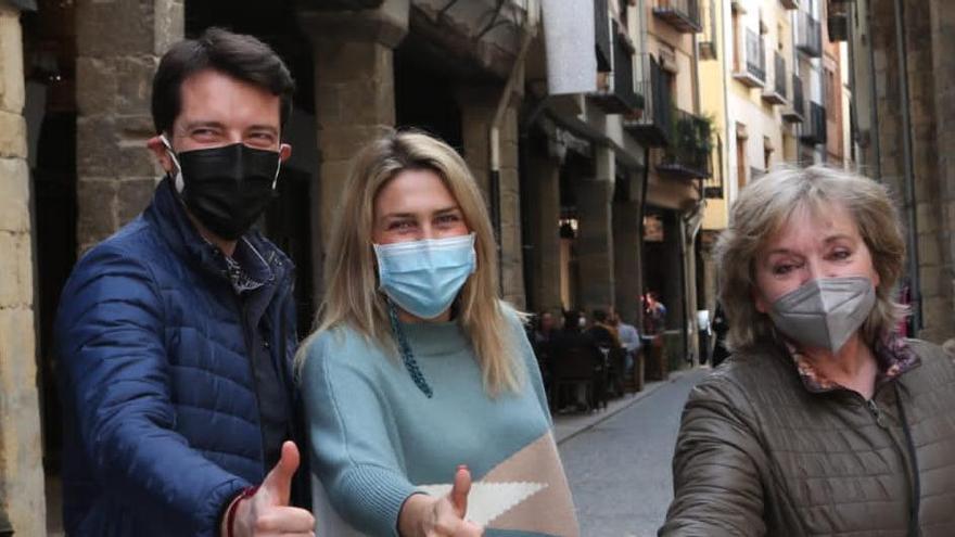 Marta Barrachina culmina su visita a agrupaciones del PP de Castellón en Els Ports