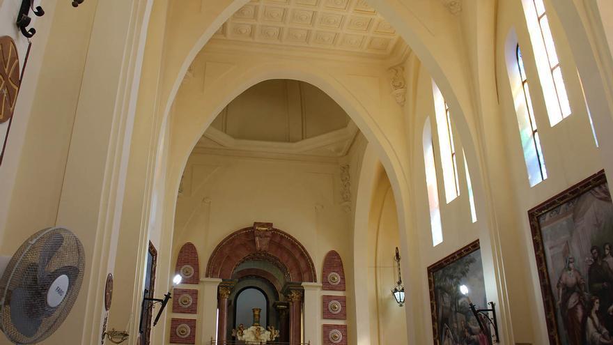 El santuario de Santa María Magdalena rejuvenece a sus 103 años