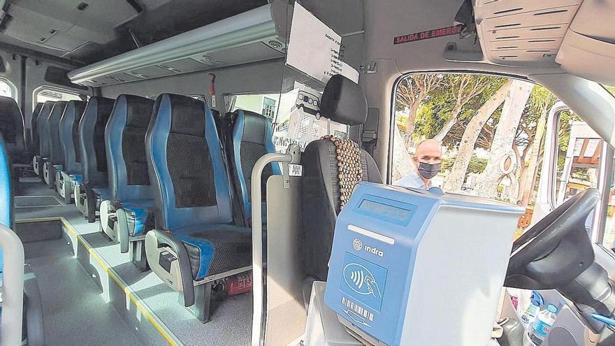 Una nueva línea de guagua y otra de refuerzo para el transporte urbano en Candelaria