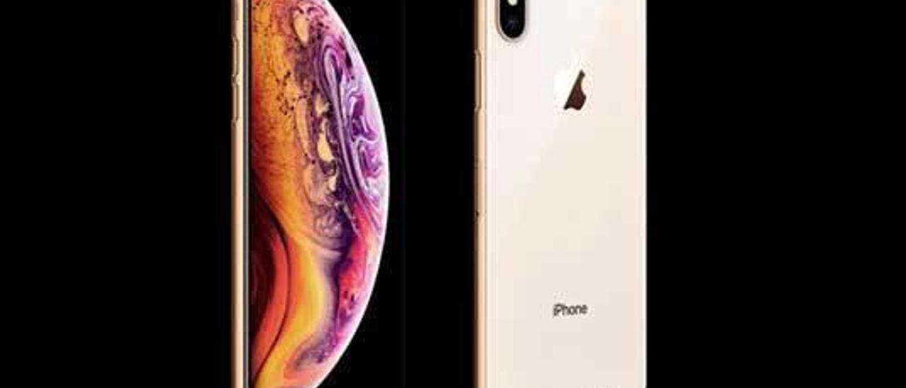Un prototipo del nuevo diseño del iPhone Xs.