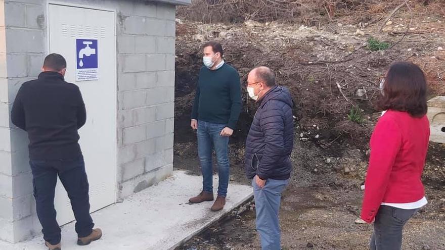 Cerdedo-Cotobade construye 25 depósitos de agua en cuatro años y mejora seis traídas de agua en 2020