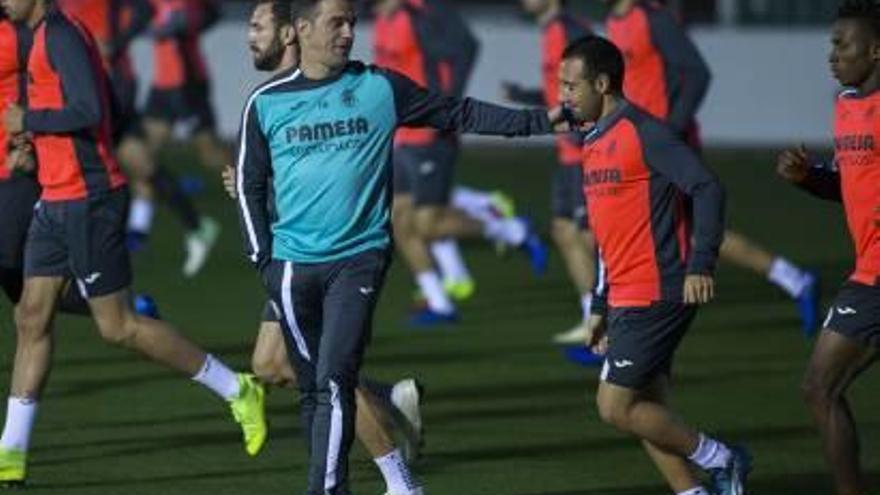 El equipo regresa esta tarde al trabajo con la mente puesta en el Madrid