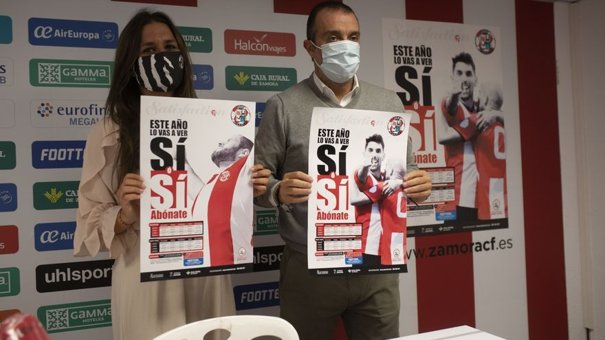 El Zamora presenta su campaña de abonados con Footters como gran refuerzo