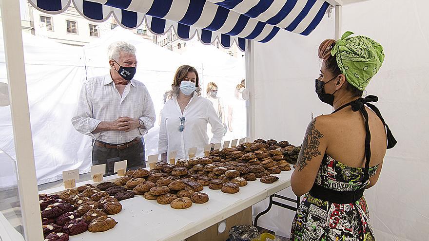 La Feria Km.0 Gran Canaria llena la capital de sabor rural con 40 expositores de 16 municipios