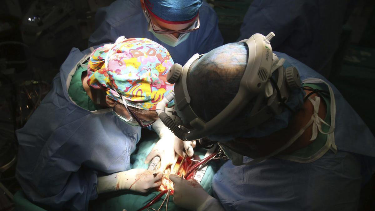 Una imagen de archivo de una intervención quirúrgica.