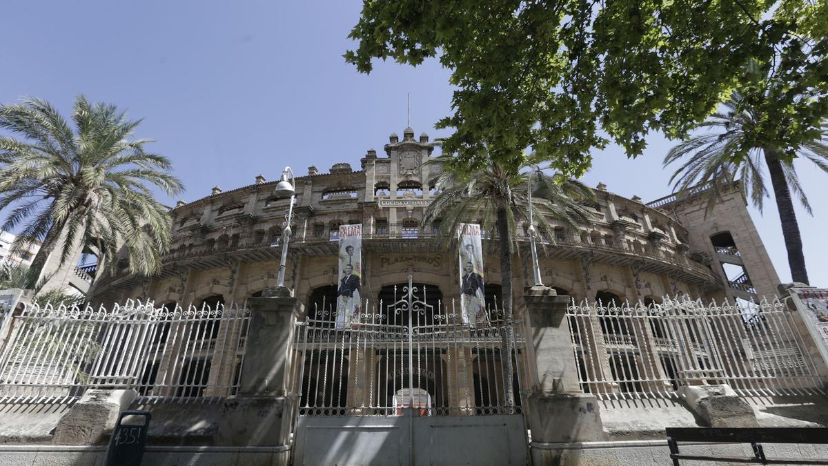 Imagen de archivo del exterior de la Plaza de Toros de Palma.