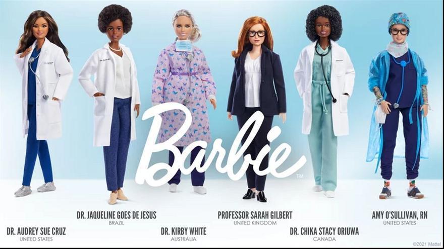 Nuevas Barbie covid: la creadora de la vacuna de AstraZeneca y otras mujeres de la ciencia