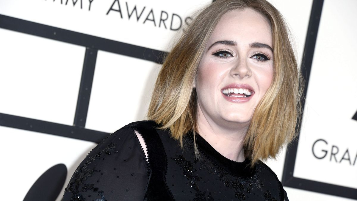 Adele, in a file image.