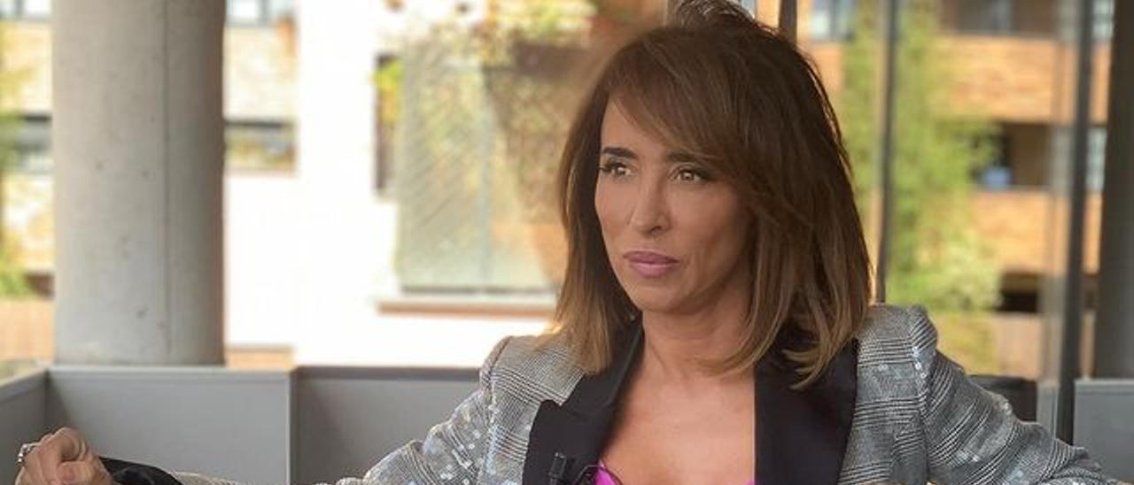 María Patiño, en una foto de su perfil de Instagram