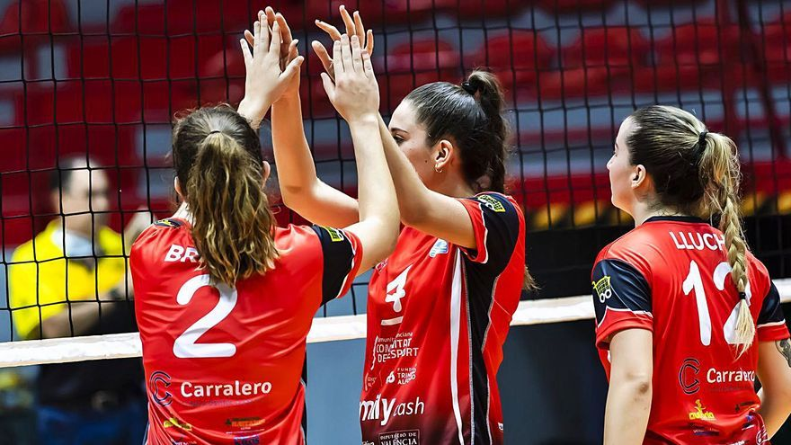 Derrotas a domicilio de los senior del Xàtiva Voleibol